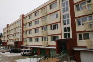 zateplený bytový dom